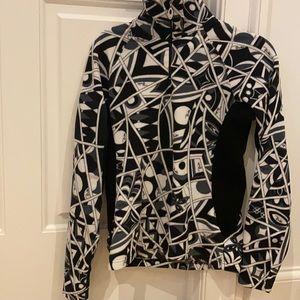 Pucci for Rossignal Black/White Fleece L